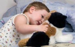 младенец играя s Стоковое Изображение