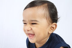 младенец индийский немногая Стоковое Изображение
