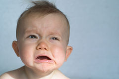 младенец капризный Стоковые Фото