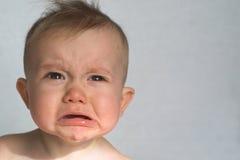младенец капризный Стоковое Фото