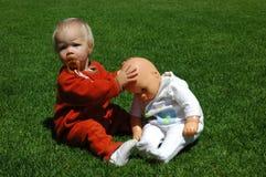 младенец - кукла Стоковое фото RF