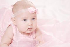 младенец меньший портрет Стоковое Изображение RF