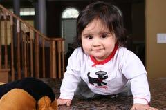 младенец милый Стоковое Фото