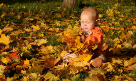 младенец милый Стоковое Изображение RF
