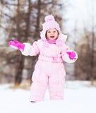 младенец напольный Стоковая Фотография RF