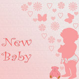 младенец новый Стоковая Фотография