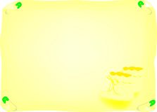 младенец объявления Стоковая Фотография RF