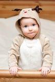 младенец оленей costume Стоковая Фотография