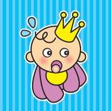 младенец прибытия бесплатная иллюстрация