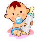 младенец симпатичный Стоковые Изображения RF