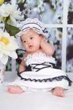 младенец симпатичный Стоковые Фотографии RF