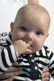 младенец смотря вас стоковые изображения rf