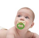 младенец смотря вверх Стоковое фото RF