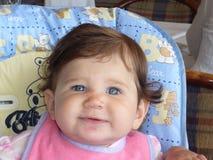 младенец счастливый Стоковая Фотография