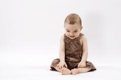 младенец счастливый Стоковые Изображения