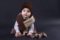 младенец счастливый Стоковое Фото