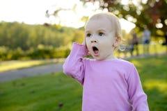 младенец удивленное немногая Стоковая Фотография RF