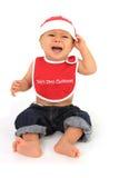 младенец унылый santa Стоковые Фото