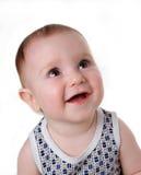 младенец усмешек Стоковые Изображения