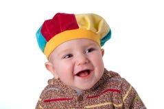 младенец хохота стоковое фото