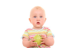 младенец яблока Стоковое Фото