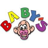 младенец Иллюстрация вектора