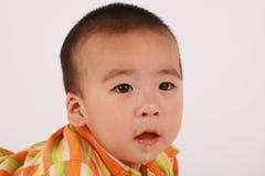младенец drooling стоковая фотография