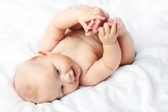 младенец newborn стоковое изображение