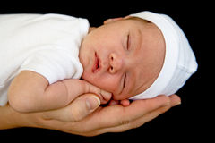 младенец newborn Стоковые Изображения