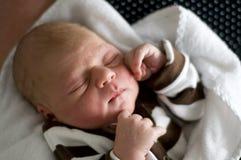младенец newborn Стоковая Фотография