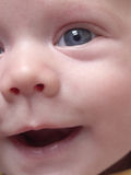 младенец s стороны Стоковое Фото