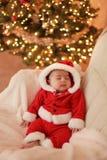 младенец santa стоковое фото rf