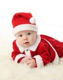 младенец santa Стоковое Фото