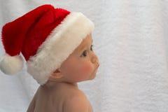 младенец santa Стоковые Изображения