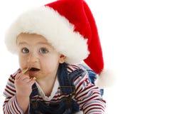 младенец santa Стоковые Фото