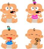младенцы Стоковое Изображение