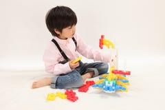 младенческая игра Стоковые Изображения RF