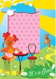младенец носит девушку меньший игрушечный Стоковое Фото