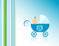 младенец объявления Стоковое Фото