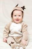 младенец оленей costume Стоковые Изображения