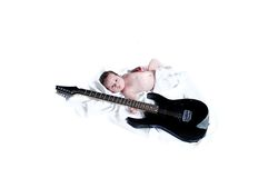 младенец получает высокий старт Стоковое Изображение RF