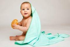 младенец симпатичный Стоковое Фото