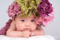 младенец симпатичный Стоковая Фотография