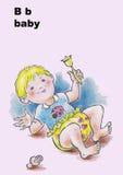 младенец b Стоковые Фотографии RF