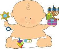 младенец hanukkah Стоковая Фотография