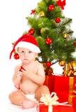 младенец santa Стоковая Фотография RF