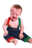 младенец screaming Стоковые Изображения RF