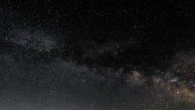 Млечный путь на небе звездной ночи Стоковая Фотография RF