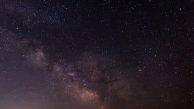 Млечный путь на небе звездной ночи Стоковые Фотографии RF