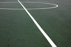 мнимые линии спорты баскетбольной площадки стоковые фотографии rf